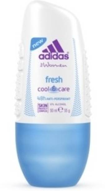 ADIDAS Fresh Cool & Care Deodorant Roll-on  -  For Women