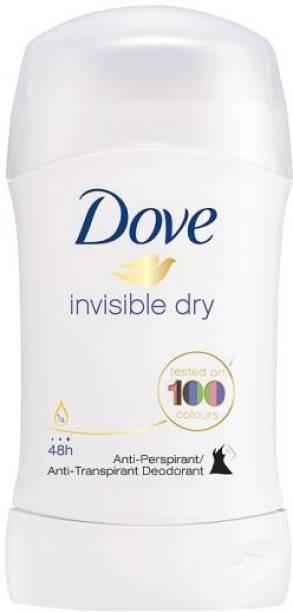 DOVE Invisible Dry Stick Antiperpirant Deodorant (Anti-white marks) Deodorant Stick  -  For Women