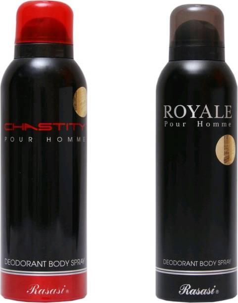 Rasasi chastity,royale Deodorant Spray - For Men