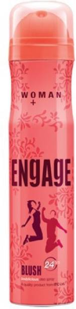 ENgAgE Blush Deodorant Spray  -  For Women