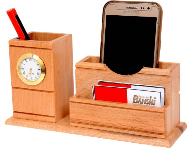 Doma 2 Compartments Wood Stand