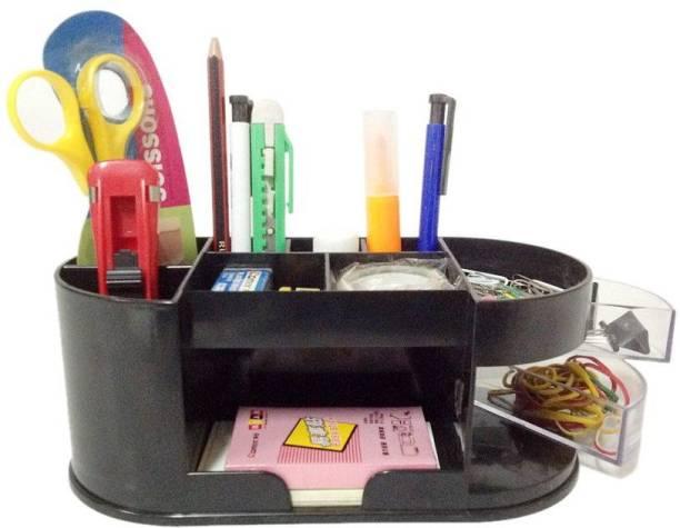 Y E S Office 1 Compartments Plastic Desk Organizer Set
