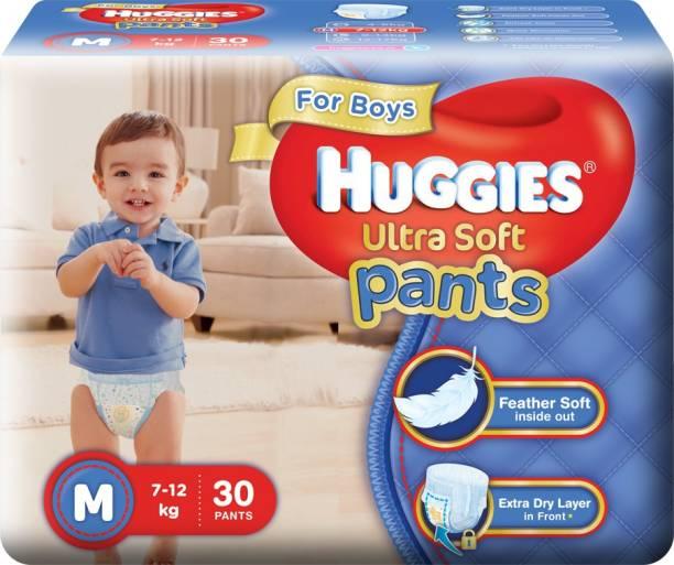 Huggies Ultra Soft Pants - M