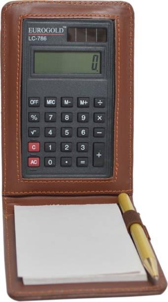 KNOTT Calculator Diary Pocket-size Note Pad Unruled 30 Pages