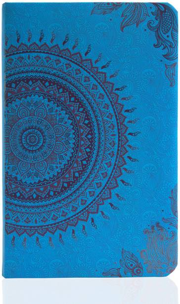 doodle Ethnic Motif Diary Notebook A5, 80 GSM, 200 Pages A5 Notebook Ruled 200 Pages