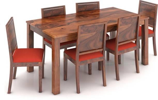 39b6f2bb3 Urban Ladder Arabia XL Storage - Oribi Solid Wood 6 Seater Dining Set