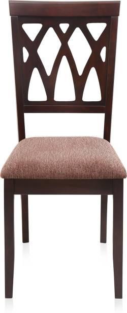 @Home by nilkamal Peak Solid Wood Dining Chair