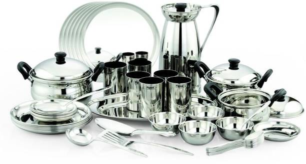 Stainless Steel Dinner Sets Online At Discounted Prices On Flipkart