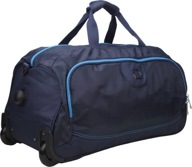 c43bdce76d26 Delsey ARC Soft 65Cm Blue Medium Duffel Bag Travel Duffel Bag