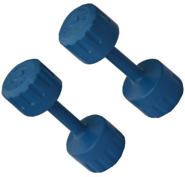 Kids Kraft 1 Kg PVC- Set of 2 Fixed Weight Dumbbell