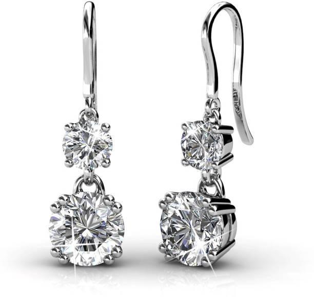 aad12f141a6eb2 Swarovski Earrings - Buy Swarovski Crystal Earrings Online at Best ...