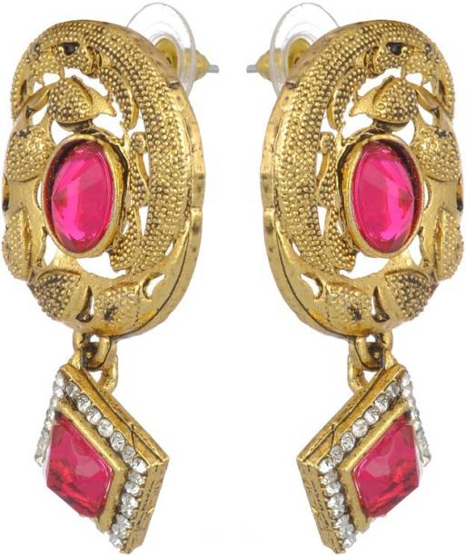 24a8712f63e Stone Earrings - Buy Stone Earrings online at Best Prices in India ...