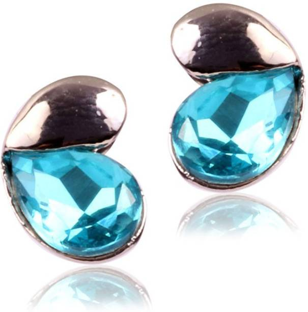Desi Panache Gie Collection Alloy Crystal Stud Earring