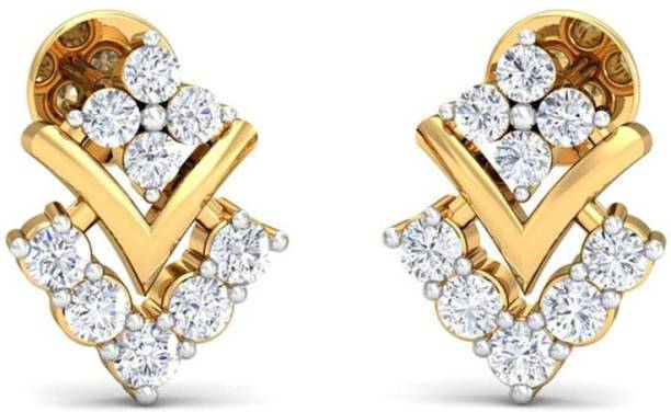 a8d15bcc2 RM Jewellers 92.5 Sterling Cubic Zirconia Sterling Silver Stud Earring