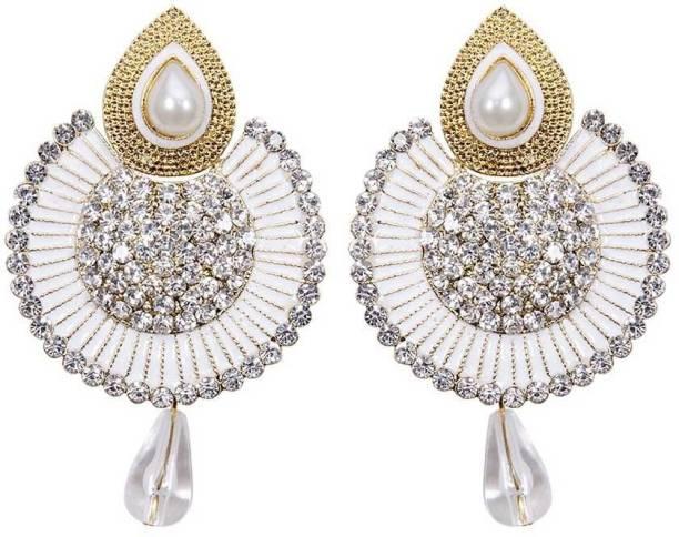 Chandelier earrings buy chandelier earrings online at best prices styylo fashion diva style zircon alloy chandelier earring aloadofball Choice Image