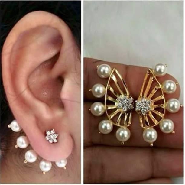 9be45f89e Ear Cuffs Earrings - Buy Ear Cuffs Earrings online at Best Prices in ...