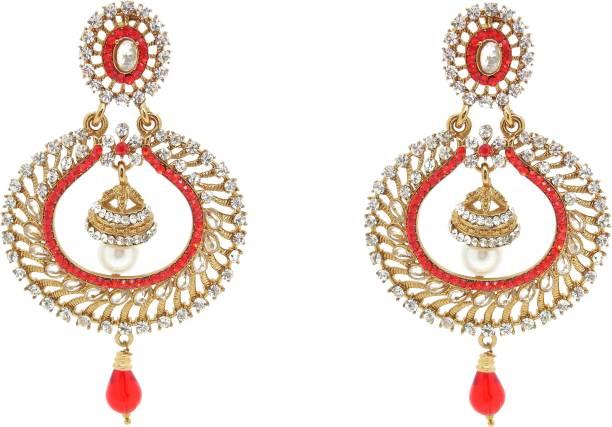 f1a908ca60a Chandbali Earrings - Buy Chandbali Earrings online at Best Prices in ...