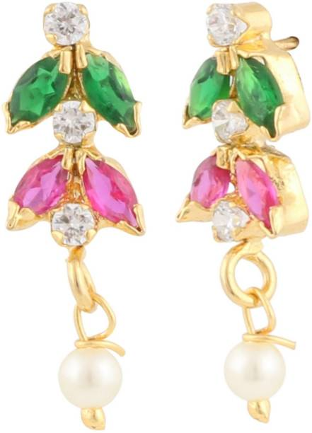 ef4d923cb Gold Stud Earrings - Buy Gold Stud Earrings online at Best Prices in ...