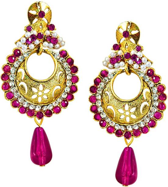 6a619715d Stone Earrings - Buy Stone Earrings online at Best Prices in India ...