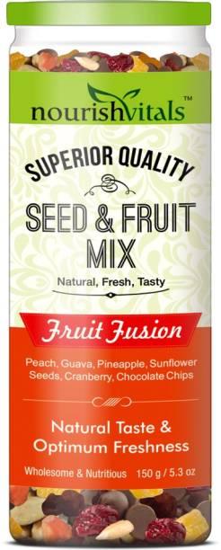 nourishvitals Seed & Fruit Mix - Fruit Fusion - Breakfast / Snacks Trail Mix