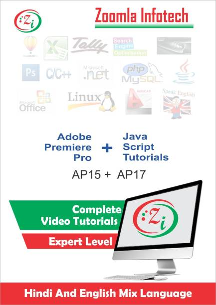 Zoomla Infotech Adobe Premiere Pro For Beginners [Complete Training] & Complete Java Scripts Training Tutorials DVD/CD in Hindi
