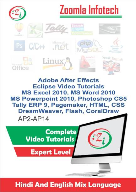 Zoomla Infotech After Effects, Eclpse, Coral Draw, Flash etc. Video Tutorials