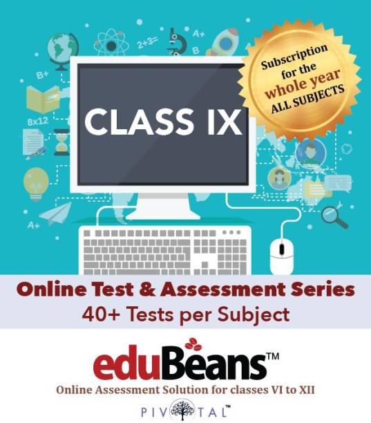 Edubeans Beans IX Online Tests Preparation for Class 9 with Term & Unit Test