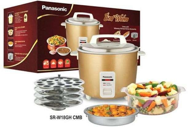 Panasonic SR-W18GH CMB Rice Cooker, Food Steamer