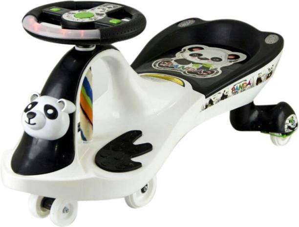 Stylezone Fnk-Pandafrog B/W-White Rideons & Wagons Ride On
