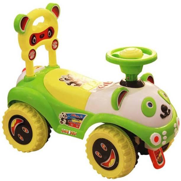 Stylezone Fnk-Ruffride-Green Rideons & Wagons Ride On