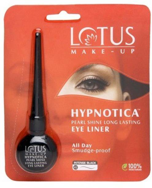 LOTUS MAKE - UP MAKE-UP HYPNOTICA PEARL SHINE LONG LASTING EYE LINER INTENSE BLACK, H2 6 g