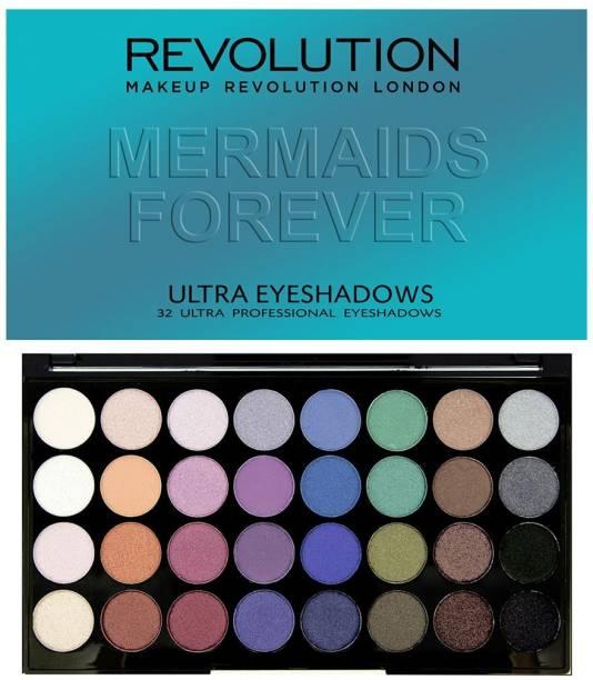 Makeup Revolution Ultra Eyeshadows Mermaids Forever 20 g