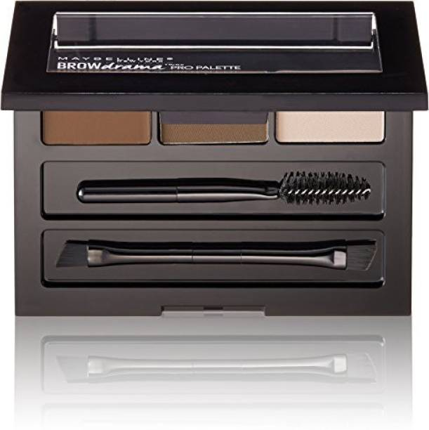 MAYBELLINE NEW YORK Brow Drama Pro Makeup Palette Deep Brown 3 ml