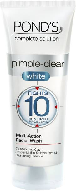 PONDS Pimple-clear White Multi Action Face Wash