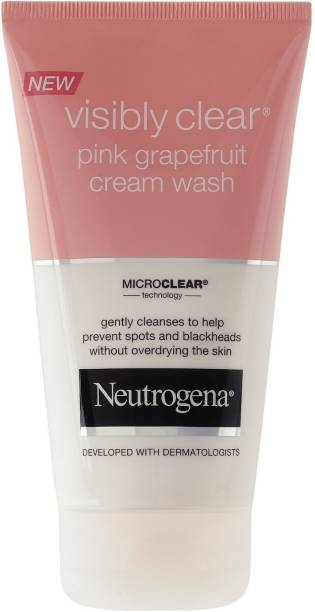 NEUTROGENA Visibly Clear Pink Grapefruit Cream Face Wash
