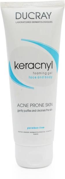 DUCRAY Keracnyl Foaming Gel For Acne Prone Skin Face Wash