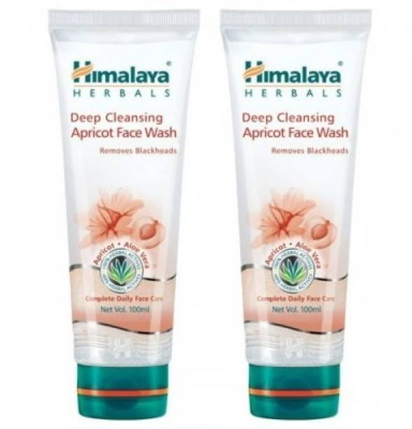 HIMALAYA Deep Cleansing Apricot - (Pack of 2) Face Wash
