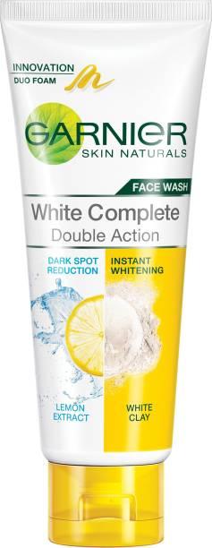 GARNIER Skin Naturals White Complete Double Action Face Wash
