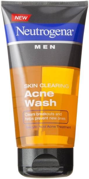 NEUTROGENA Men's Skin Clearing Acne Face Wash