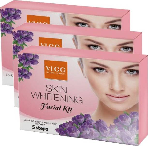 VLCC Skin Whitening Facial Kit pack of 3