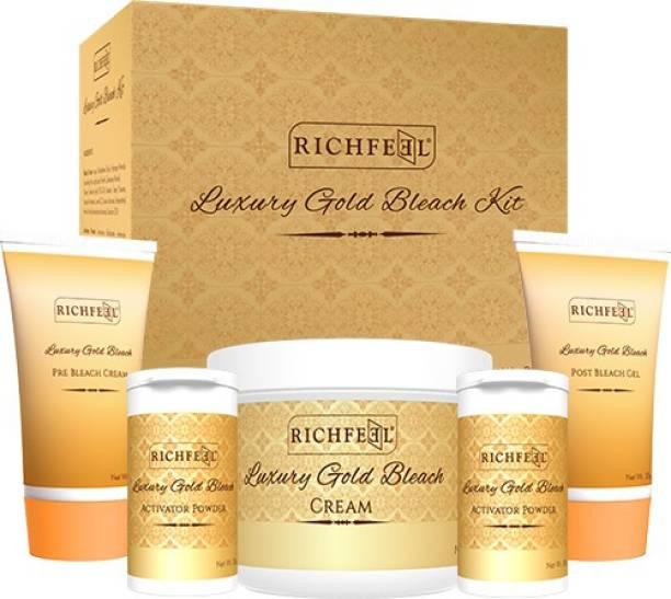 RICHFEEL Luxury Gold Bleach Kit