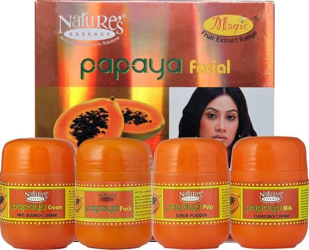 Nature's Essence Papaya Kit for Blemishes & Pigmentation (Free Facial Band) 425 g