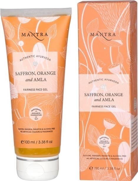 MANTRA Saffron, Orange and Amla Fairness Face Gel