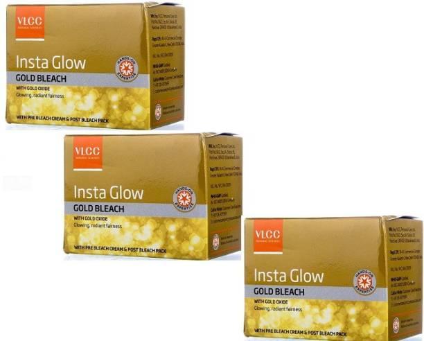 VLCC Insta Glow Gold Bleach ( pack of 3)