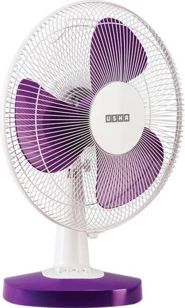 USHA MIST AIR DUOS 400 mm 3 Blade Table Fan