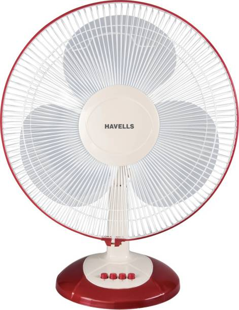 HAVELLS Swing LX 400 mm 3 Blade Table Fan