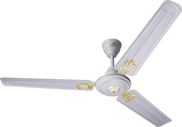 BAJAJ New Bahar Deco 1200 mm Bianco CF 1200 mm 3 Blade Ceiling Fan