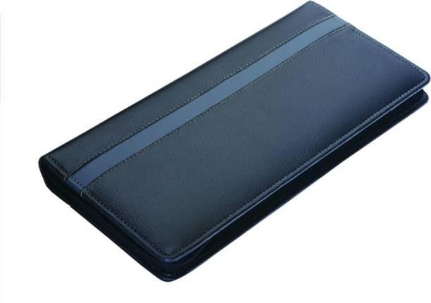 KITTU Leather Check book holder