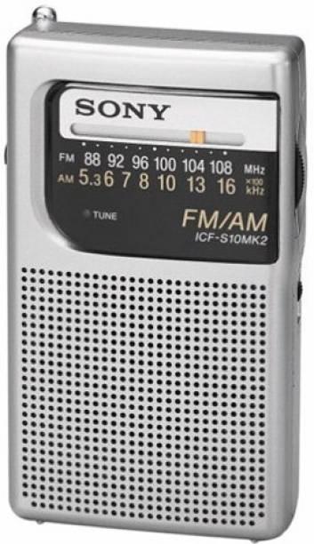 SONY ICF-S10MK2 Pocket AM/FM Radio FM Radio