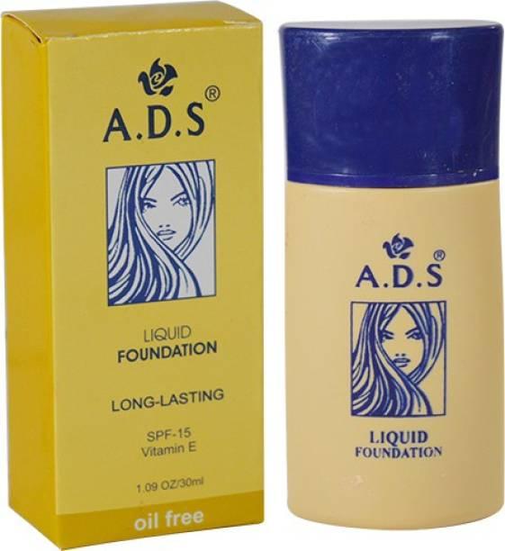 ads Oil Free Longlasting liquid Foundation Pack of 1 Foundation